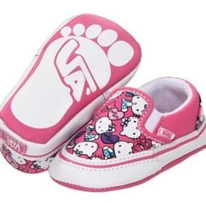 Vans Classic Slip-On Baby Hello Kitty Pink Size 2